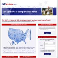 HUD Foreclosed image
